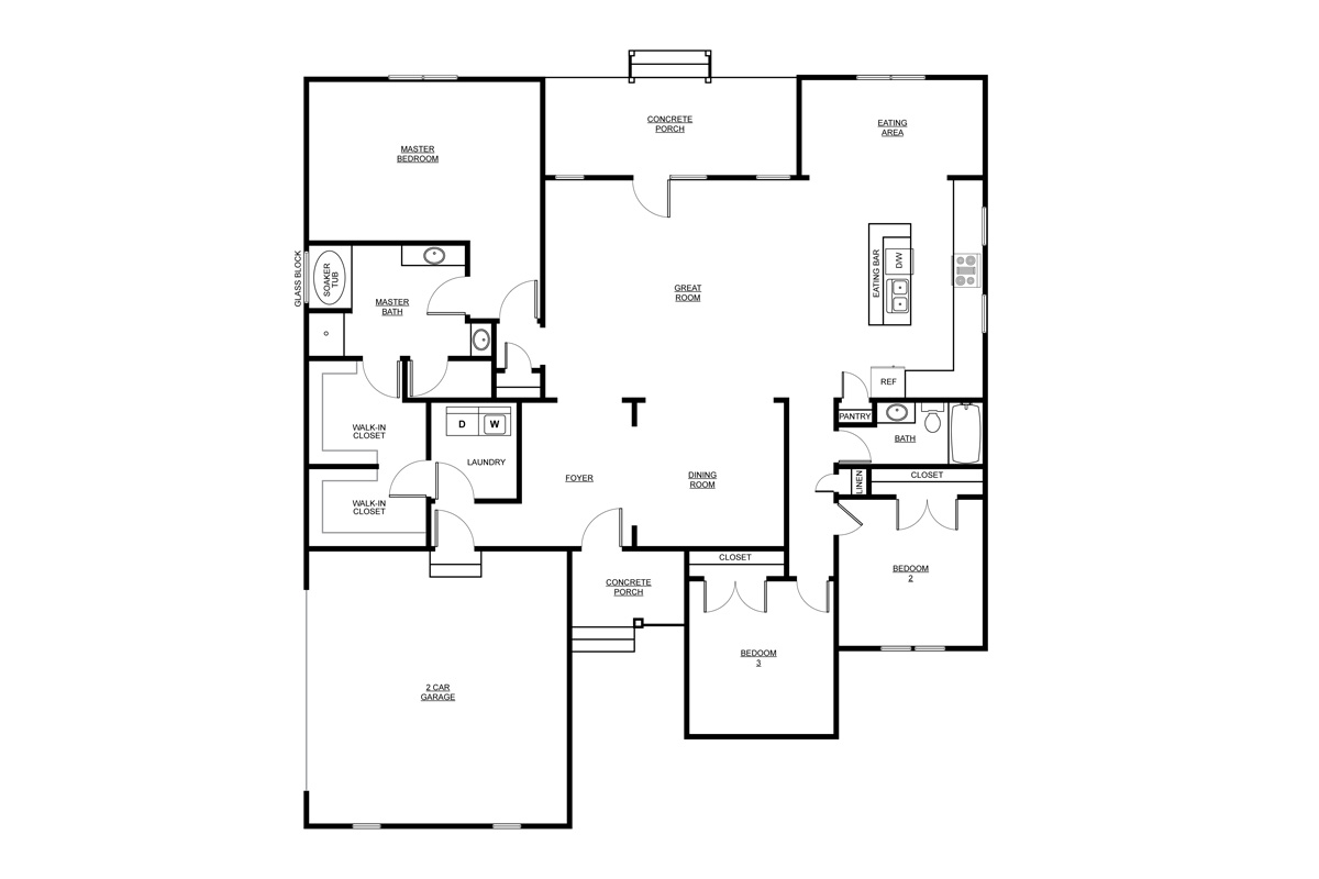 The rosewood carson homes for Rosewood house plan